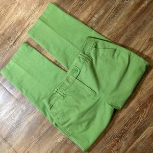 LIKE NEW ❗️ Talbots Green Ankle Pants Size 10